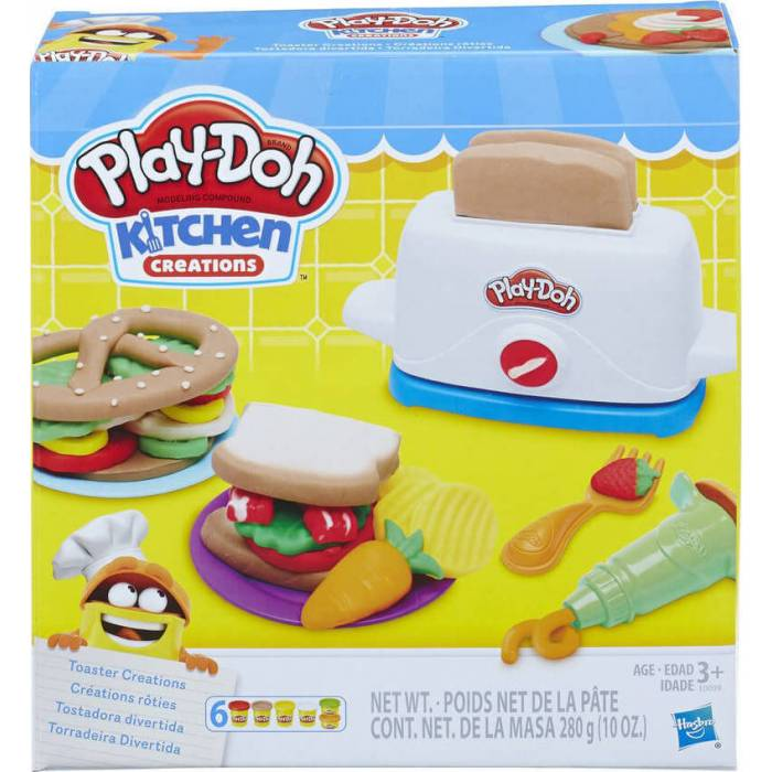 Hasbro Play-Doh Kitchen Creations Toaster Creations