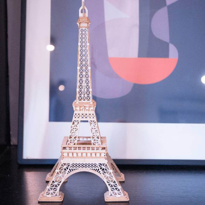 Robotime Ξύλινο Puzzle 3D Eiffel Tower
