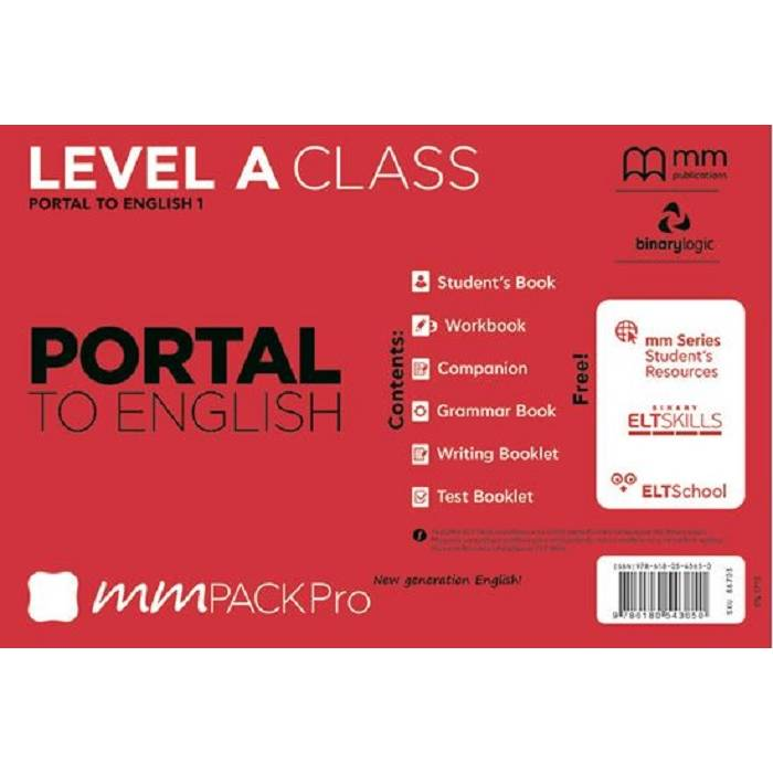 MM Pack Pro Portal To English 1 A Class