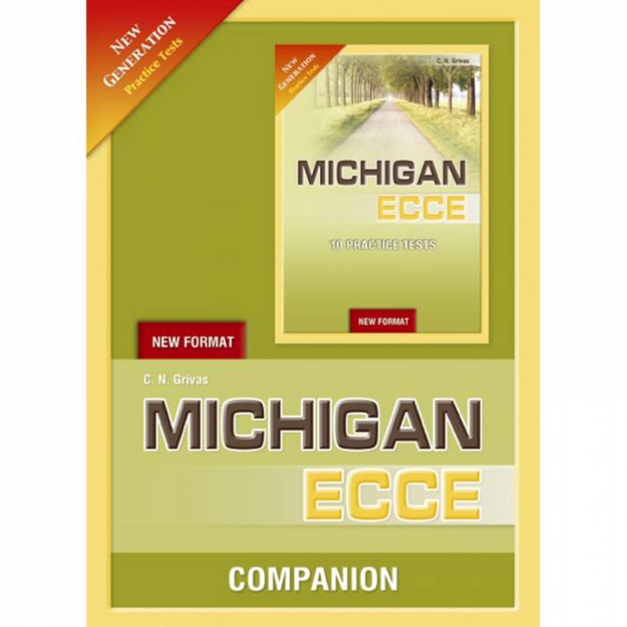 New Format 2021 Michigan ECCE 10 Practice Tests - Companion