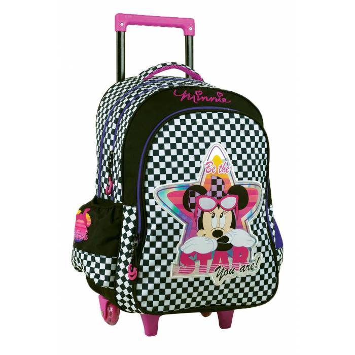 GIM Σακίδιο Trolley Minnie Silver Star