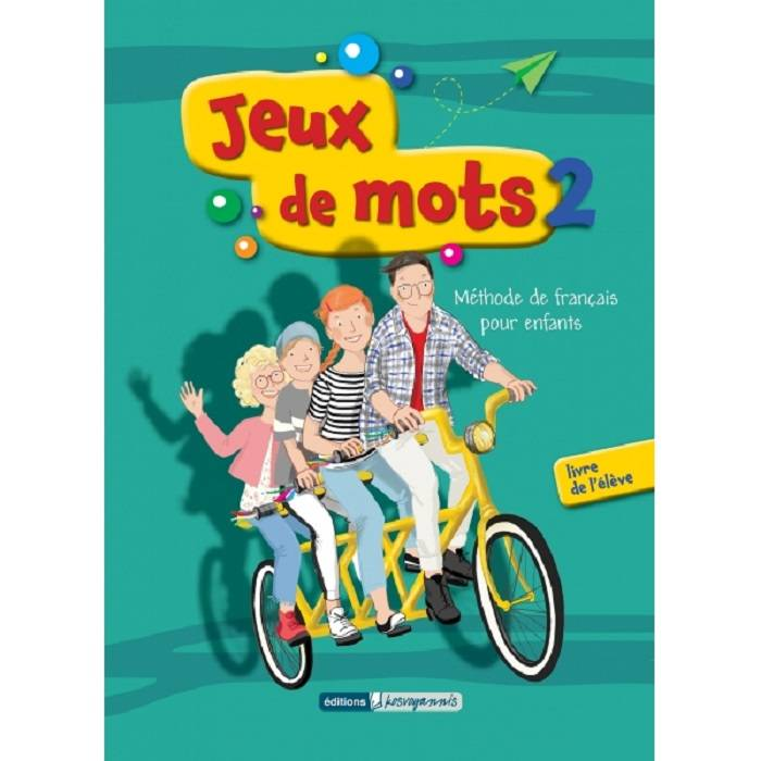 Jeux De Mots 2 - Methode + Cahier (+Mp3 Audio)