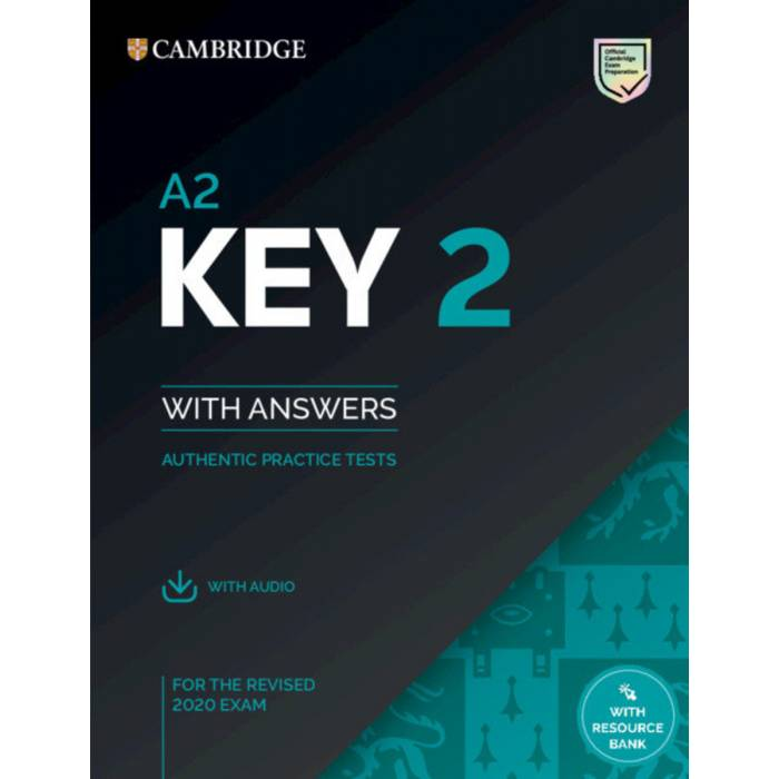 Cambridge Key English Test 2 Student's Book With Answers (+ Downloadble Audio)