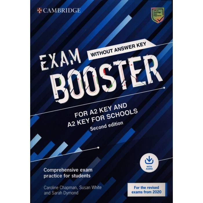 Cambridge English Exam Booster Key & Key For Schools - Student's Book Without Answers (+ Downloadble Audio)