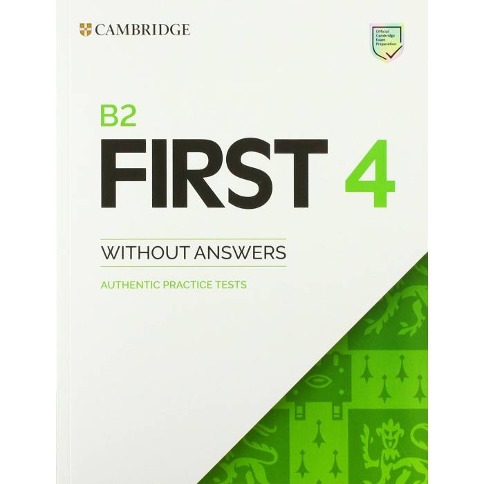 Cambridge English First 4 - Student's Book Without Answers