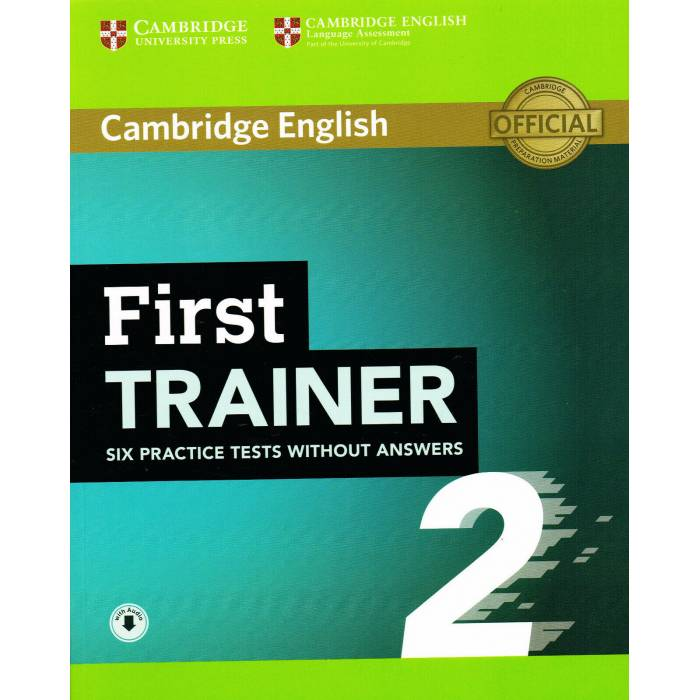 Cambridge English First Trainer 2 - Student's Book Without Answers (+ Downloadable Audio)