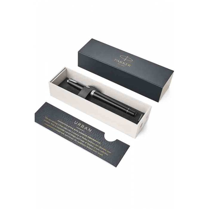 Parker Πένα Urban Muted Black CT Fountain Pen
