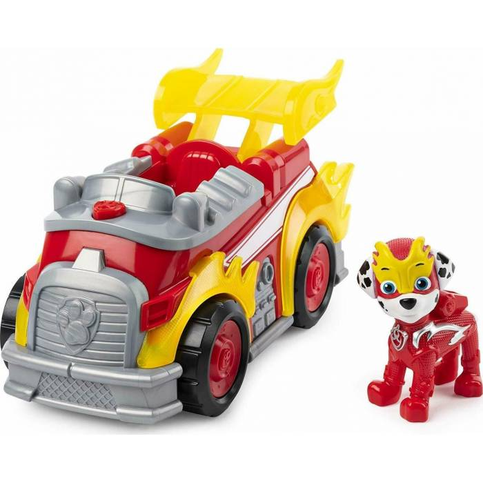 Spin Master Paw Patrol : Mighty Pups Super Paws - Marshall Deluxe Vehicle