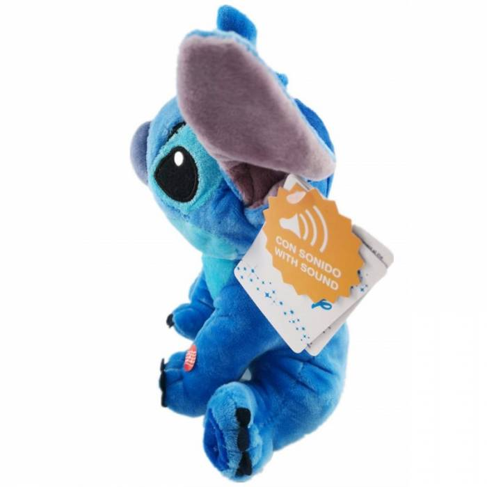 Play By Play Λούτρινο Με Ήχους Stitch (Lilo And Stitch) 20cm