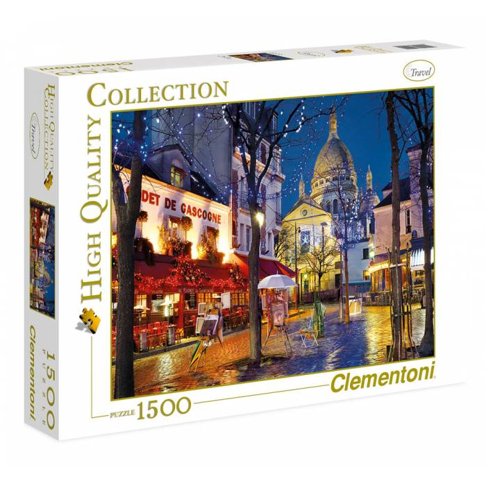Clementoni Παζλ 1500 Τεμ. High Quality Collection Paris Montmartre