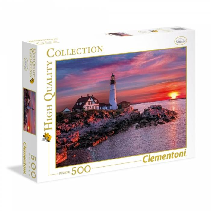 Clementoni Παζλ 500 Τεμ. High Quality Collection Portland Head Lighthouse