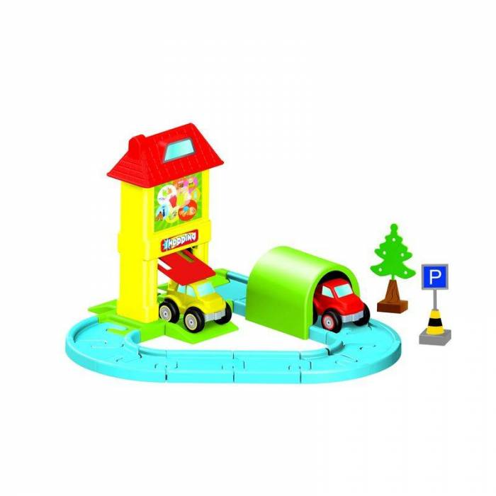 Zita Toys Dolu Mini Giants Road Set 31pcs