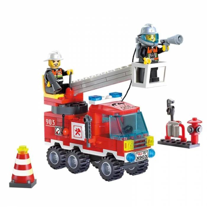 Enlighten 903 Single Bridge Fire Engines 130 Τεμ.