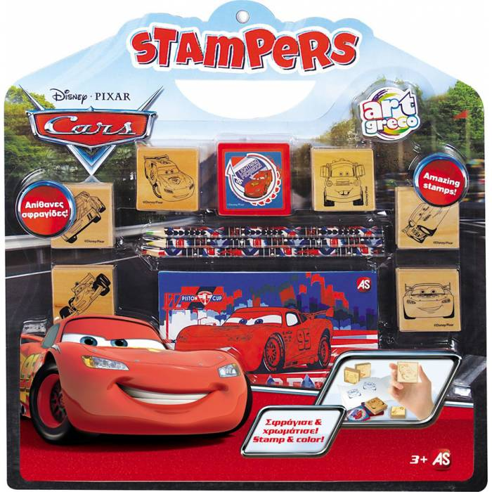 AS Company Disney Cars Stampers