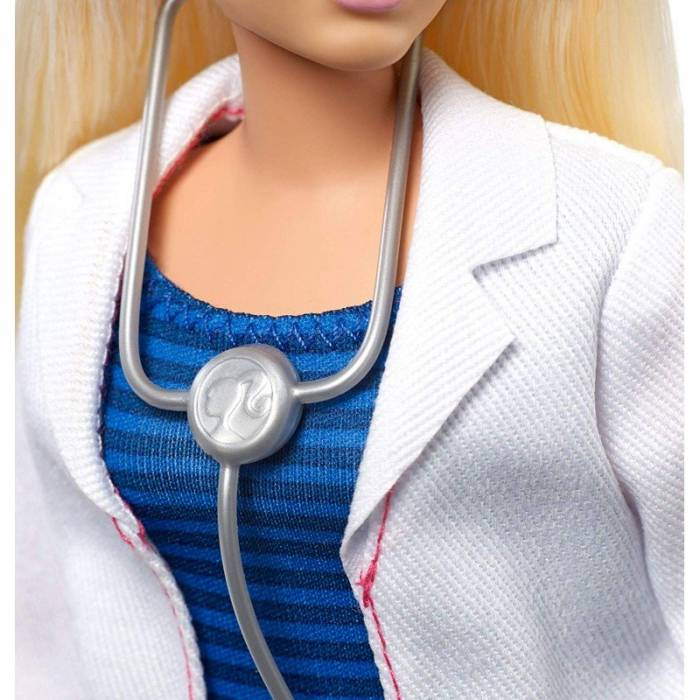 Mattel Barbie You Can be Anything - Doctor Curvy Doll FXP00