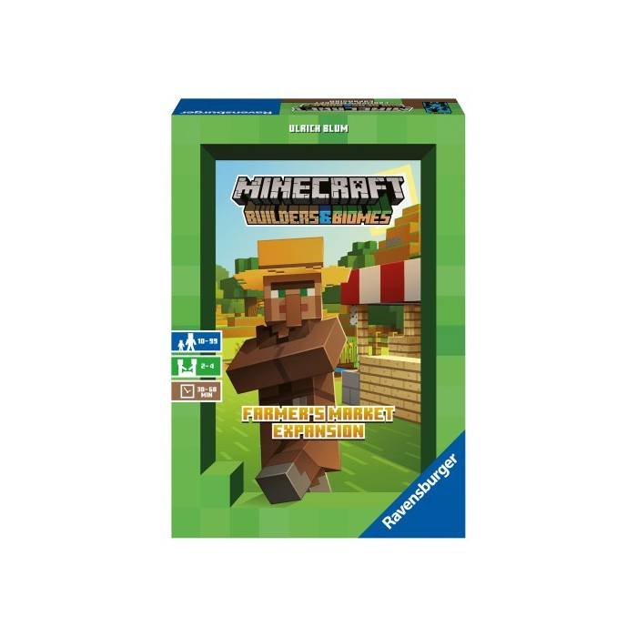 Ravensburger Επιτραπέζιο Minecraft Farmers Market Expansion