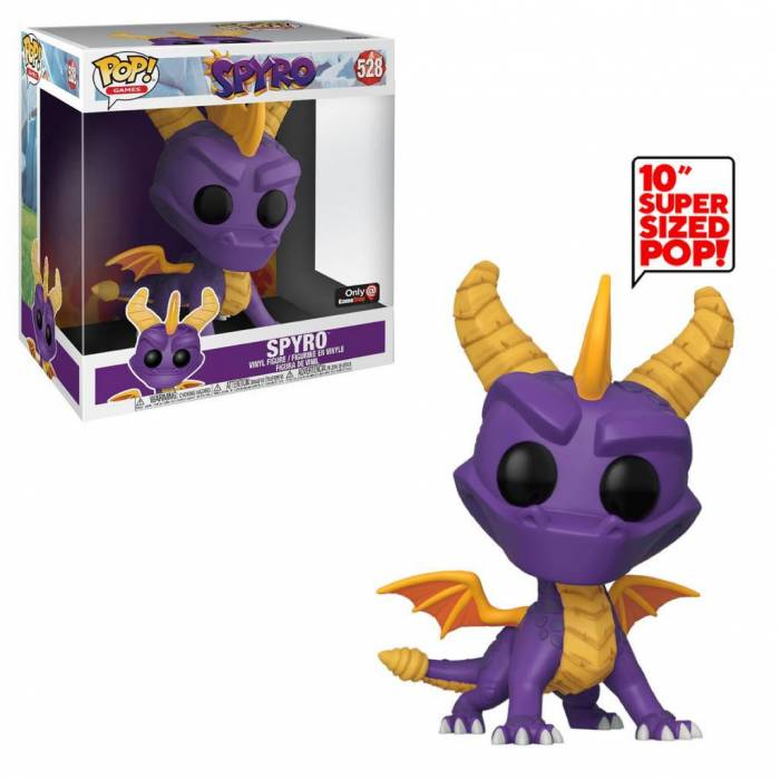 Funko Pop! Vinyl Figure Games 528 - Supersized Spyro The Dragon