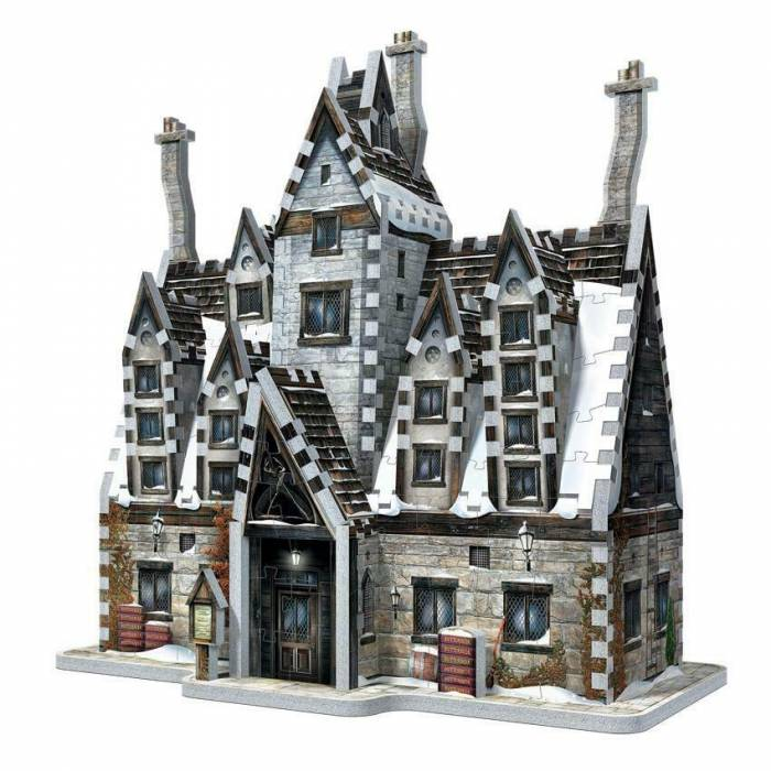 Wrebbit 3D Puzzle Harry Potter Hogsmeade - The Three Broomsticks 395τεμ