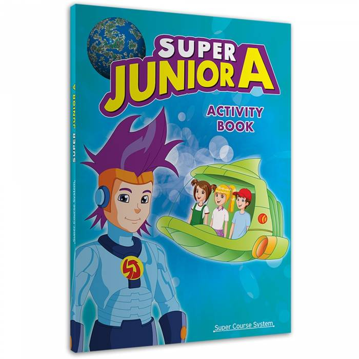 Super Junior A: Activity Book (+Stickers)