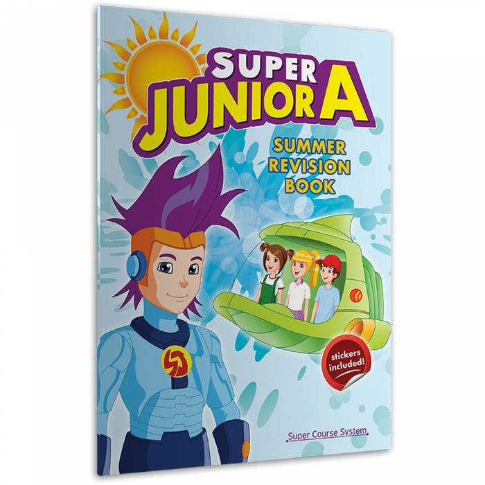 Super Junior A Summer Revision Book (+ Stickers)