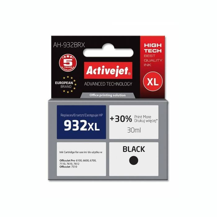 Activejet Μελάνι HP 932 XL Black