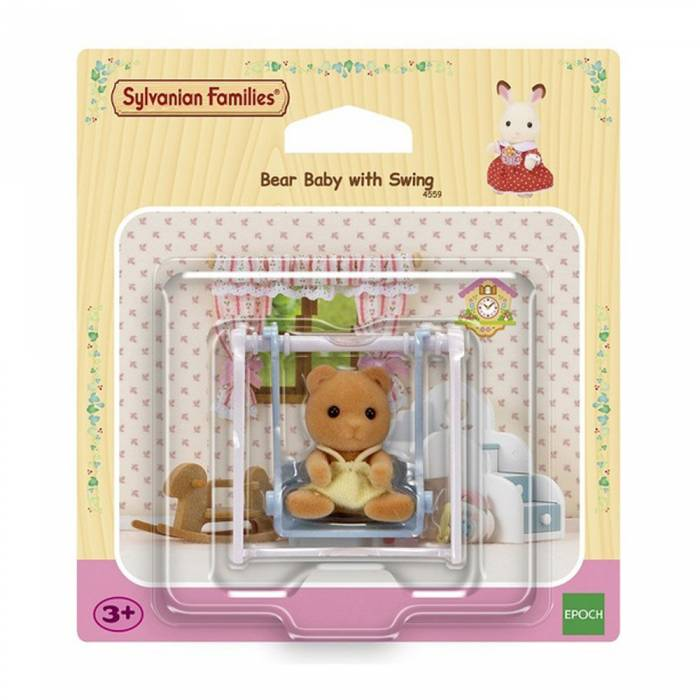 Sylvanian Families 4559 Bear Baby Swing