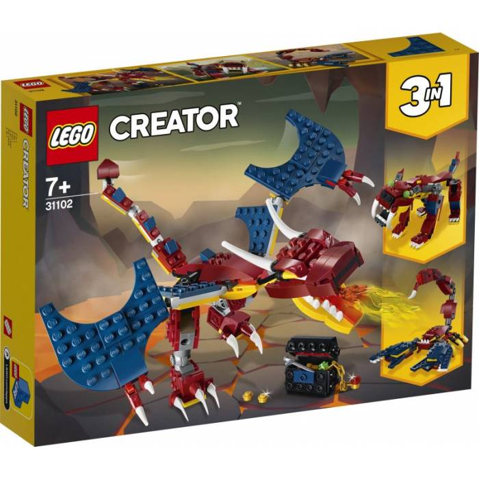 Lego 31102 Creator Fire Dragon