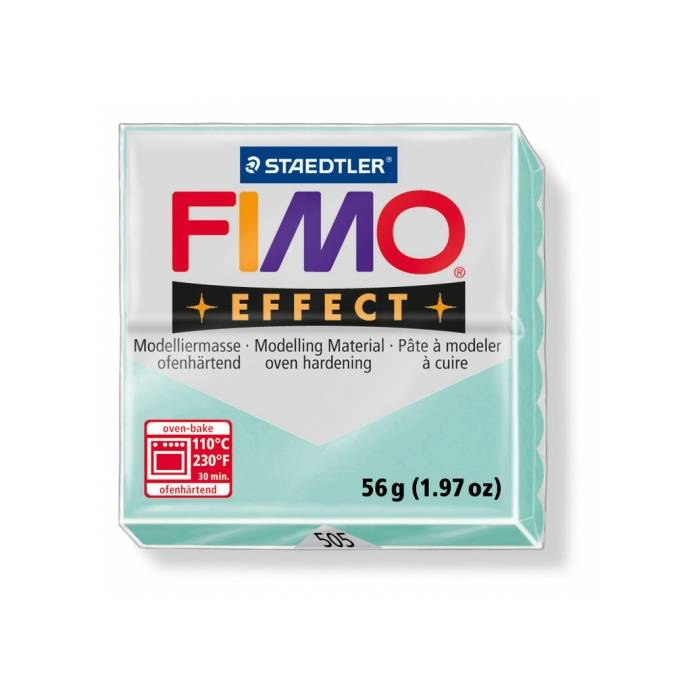 Staedtler Πηλός Fimo Effect Mint No505 57gr