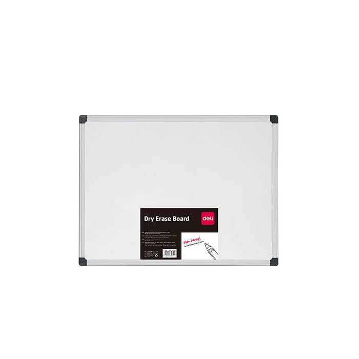 5df1d61bfe Deli Πίνακας Λευκός Μαγνητικός Με Μεταλλικό Πλαίσιο 60x90cm - e ...