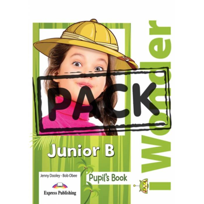 i Wonder Junior B - Jumbo Pack (Pupil's Book, Alphabet Book, Activity Book, Companion & Grammar)