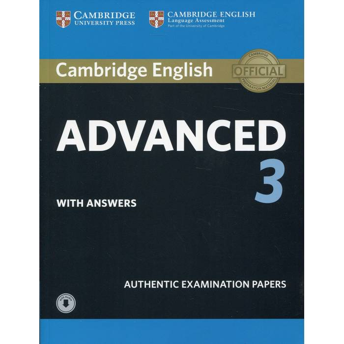 Cambridge English Advanced 3 - Self Study Pack (Student's Book With Answers & Audio Download)