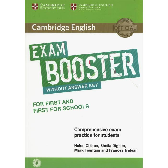 Cambridge English Exam Booster For First And First For Schools Without Answer Key - Photocopiable Exam Resources (+Audio)