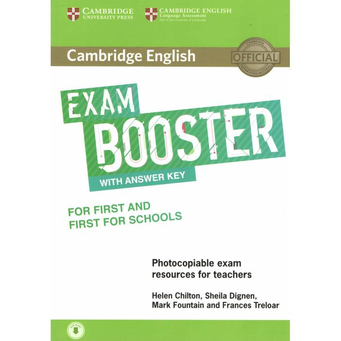 Cambridge English Exam Booster For First And First For Schools With Answer Key - Photocopiable Exam Resources For Teachers (+Audio)