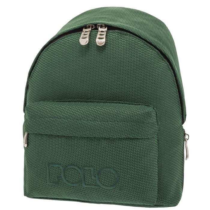8eb89228d9b Polo Τσάντα Πλάτης Νηπίου Backpack Mini Πράσινο Πλεκτό Knit 2019 - e ...