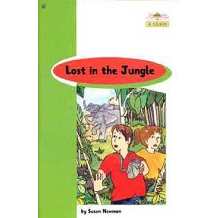 Lost In The Jungle - Book Reader & Glossary & Answer Key (A Class)
