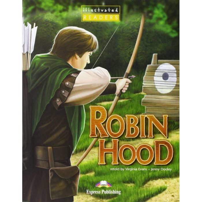 Robin Hood Illustrated - Reader (With Multi-ROM PAL)