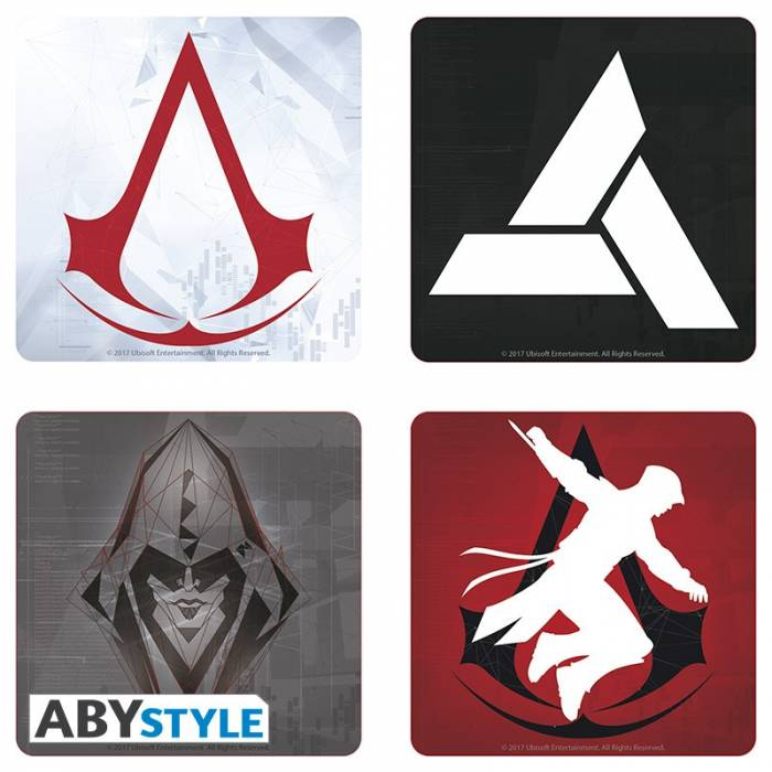 ABYstyle Σουβέρ Assassin's Creed 4 Τεμάχια