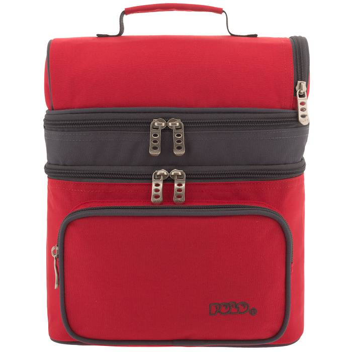 Polo Τσαντάκι Φαγητού Double Cooler Red