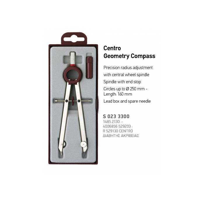 Rotring Διαβήτης 529130 Centro Geometry Compass Ακριβείας