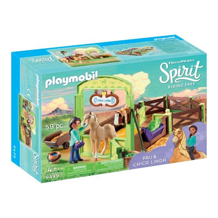Playmobil 9479 Spirit H Pru Με Το Άλογο Chica Linda
