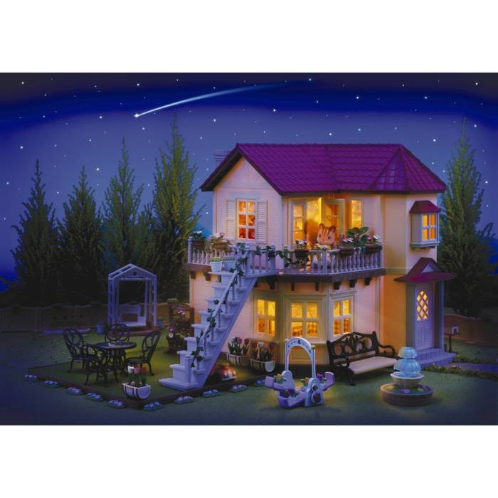 Sylvanian Families 2746 City House With Lights Gift Set D