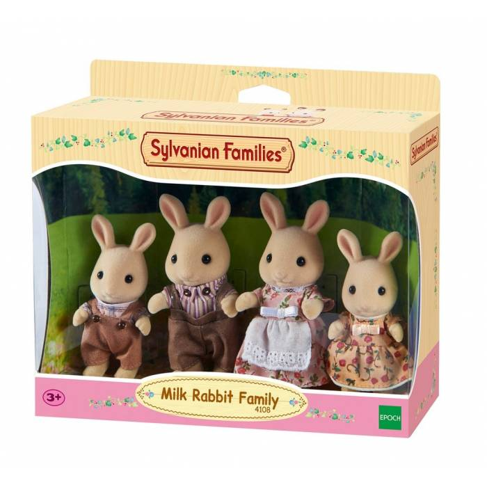 Sylvanian Families 4108 Milk Rabbit Family