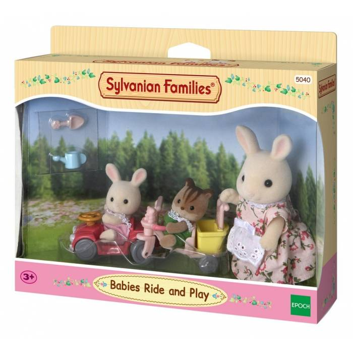 Sylvanian Families 5040 Babies Ride And Play
