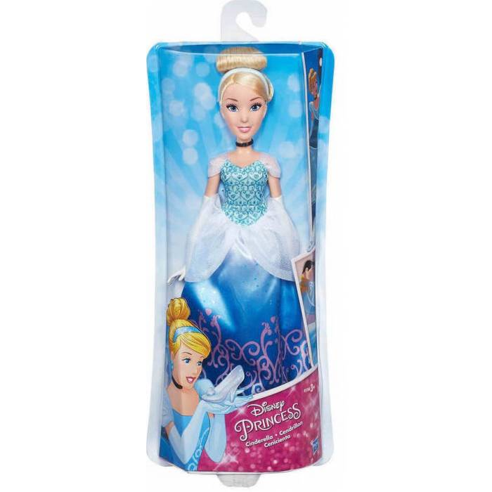 Hasbro Disney Princess Royal Shimmer Doll Κούκλα Cinderella